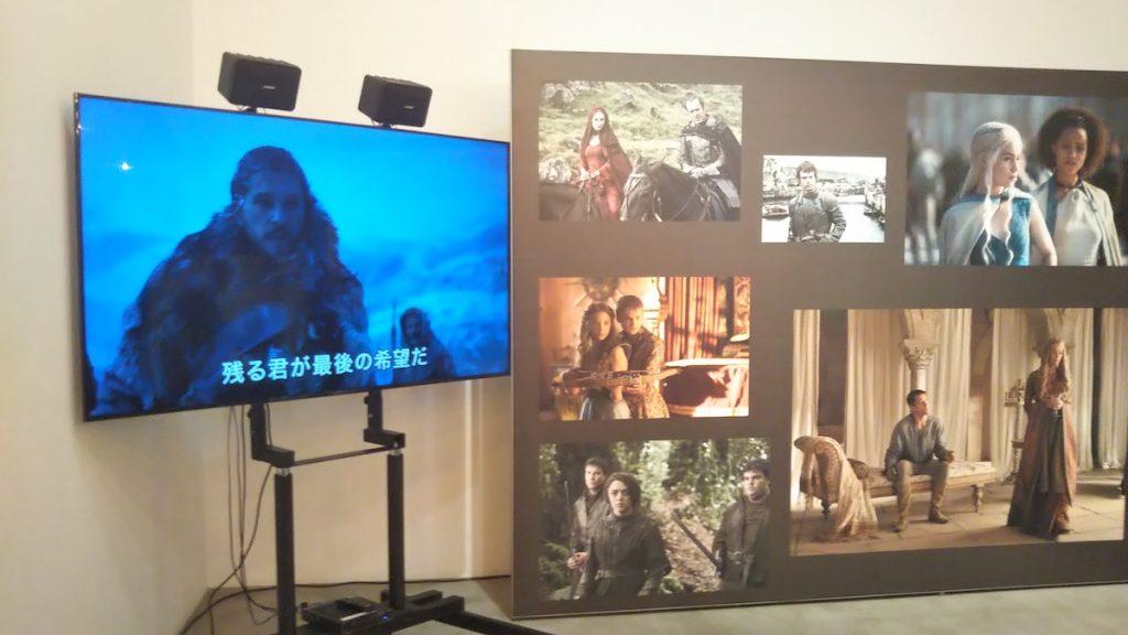 Hulu premium night2019 ゲーム・オブ・スローンズブース