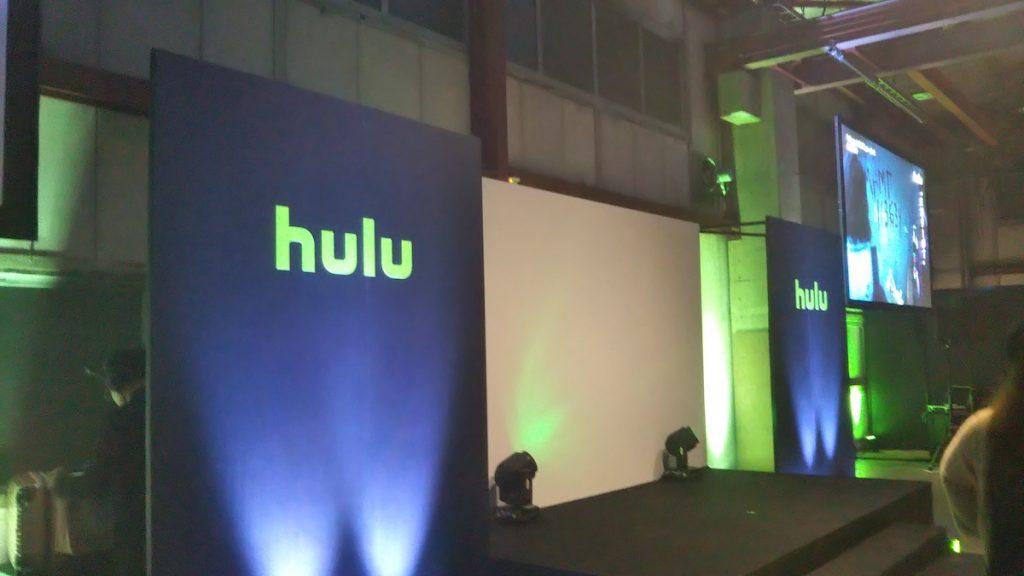 Hulu_premium_night2019 正面ステージ