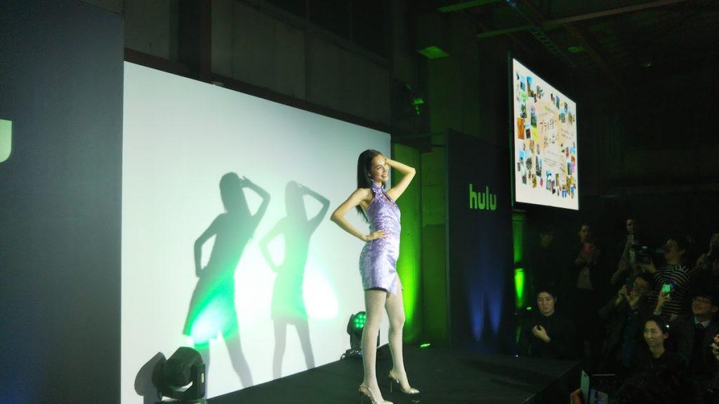 Hulu_premium_night2019 水原希子サービスショット