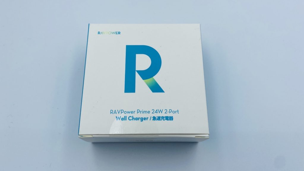 RAVPower USB充電器2ポート24W RP-UC11 (ホワイト) 箱外観