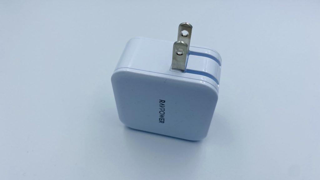 RAVPower USB充電器2ポート24W RP-UC11 (ホワイト) 本体コンセント